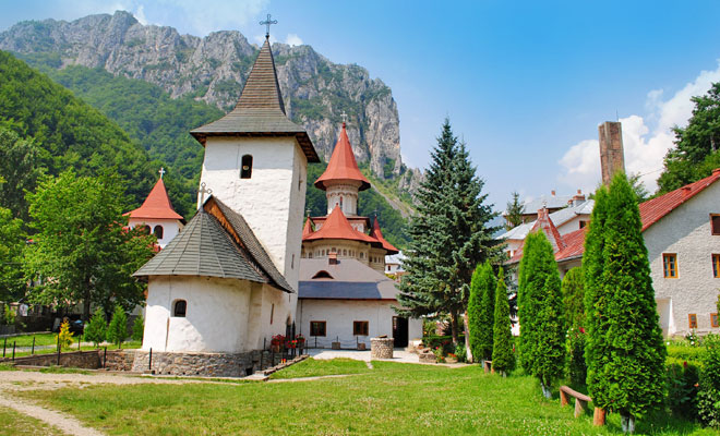 Manastirea Ramet din comuna Ramet - flickr