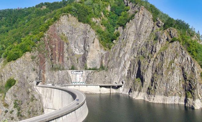 Barajul Vidraru din Arges