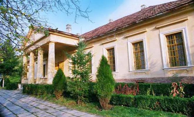 Casa memoriala Ioan Slavici din comuna Siria - cimec
