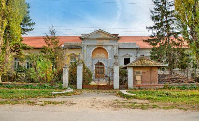 Castelul Zicky din comuna Auseu - bihon