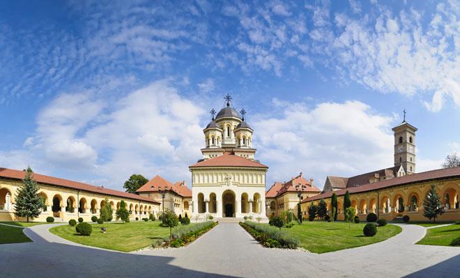 Catedrala Incoronarii din orasul Alba Iulia