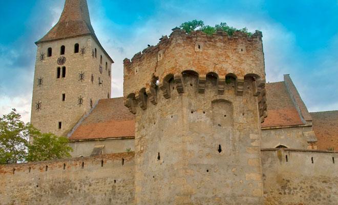 Cetatea Aiudului din orasul Aiud - flickr