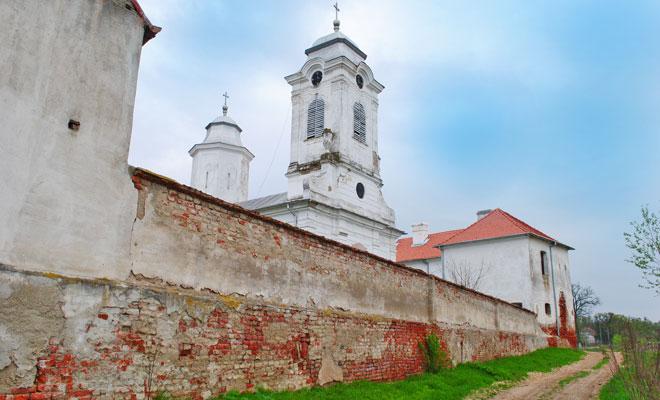 Manastirea Bezdin din comuna Secusigiu - wikimedia