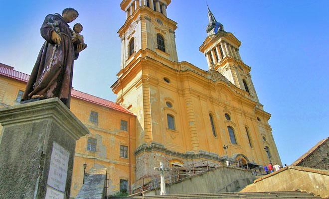 Manastirea Radna din orasul Lipova - flickr
