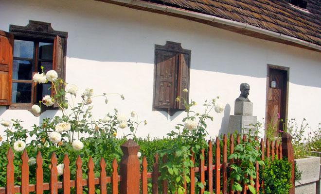 Casa memoriala George Cosbuc din comuna Cosbuc - flickr