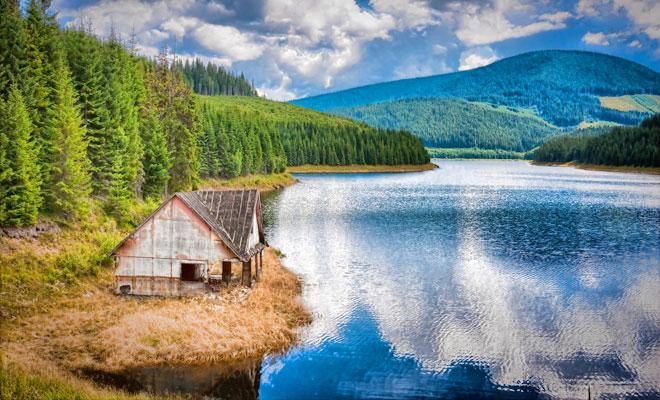 Lacul Oasa din Alba