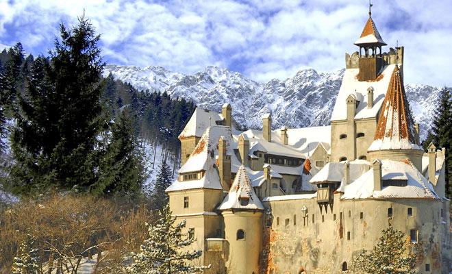 Castelul Bran din comuna Bran