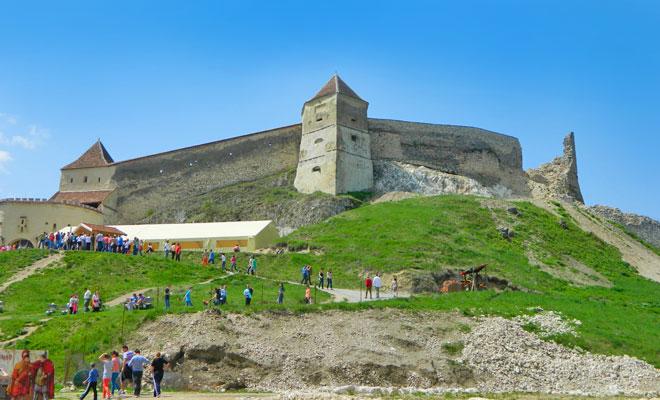 Cetatea Rasnov din orasul Rasnov