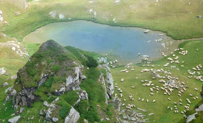 Lacul Mioarelor din judetul Brasov - bimturism