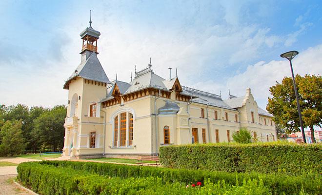 Castelul Marghiloman din orasul Buzau - savuleasca
