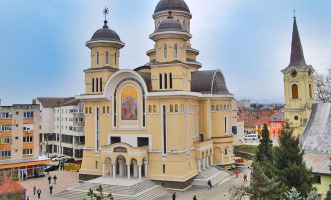 Catedrala Invierea Domnului din orasul Caransebes - romaniamama