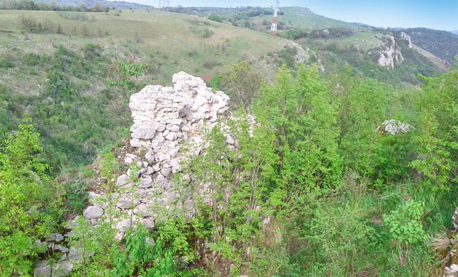 Cetatea Carasova din comuna Carasova - flickr