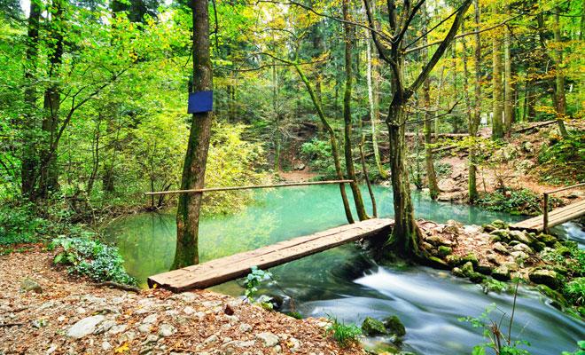 Lacul Ochiul Beiului din judetul Caras-Severin