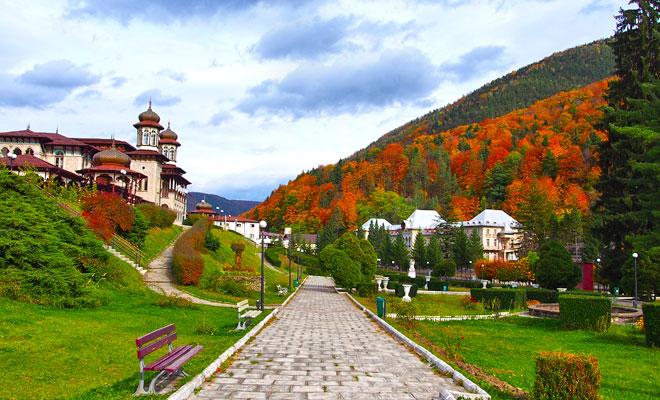 Statiunea Slanic-Moldova din orasul Slanic-Moldova judetul Bacau - flickr