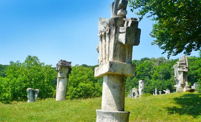 Tabara de Sculptura din comuna Magura - flickr