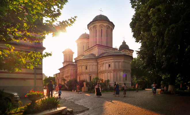 Manastirea Radu Voda din Bucuresti - flickr
