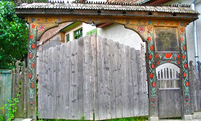 Portile Secuiesti din comuna Bradesti judetul Harghita - wikipedia