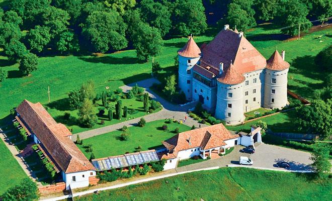 Castelul Bethlen Haller din comuna Cetatea de Balta - flickr