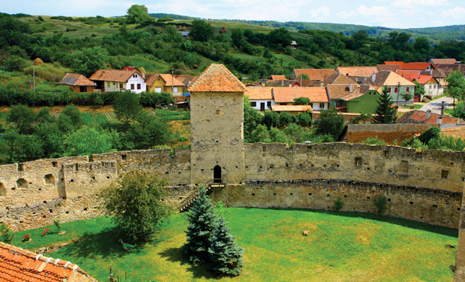 Cetatea Calnic din comuna Calnic