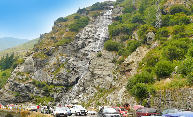 Cascada Capra din Arges - flickr