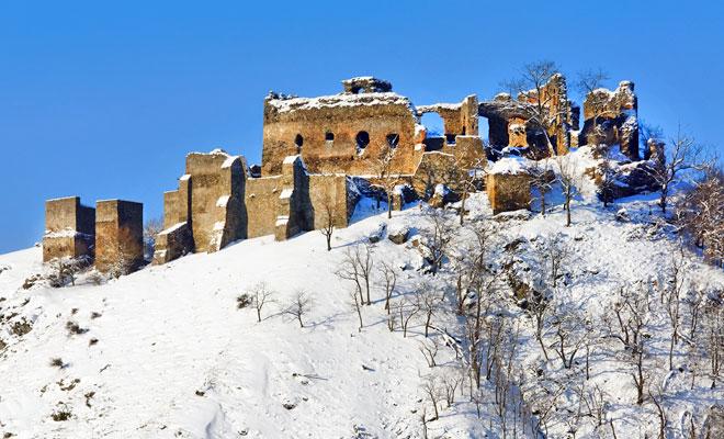 Cetatea Soimos din orasul Lipova