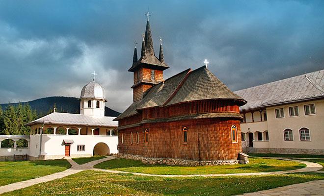 Manastirea Oasa din comuna Sugag - flickr