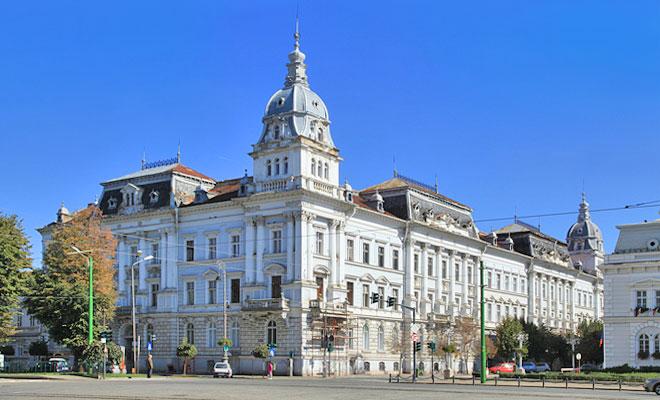 Palatul Cenad din orasul Arad - aradcityguide