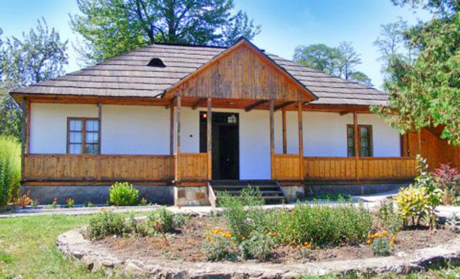 Casa memoriala George Enescu din comuna George Enescu - gazetabt