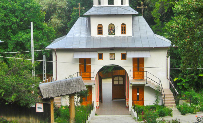 Manastirea Dalhauti din comuna Carligele - flickr