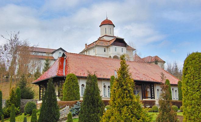 Manastirea Recea din comuna Dumbraveni - flickr