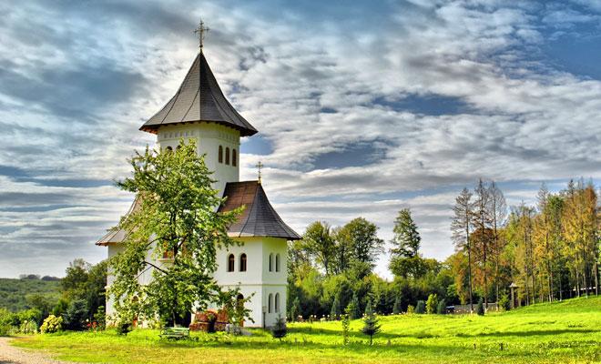 Manastirea Sihastria Voronei din comuna Vorona - flickr