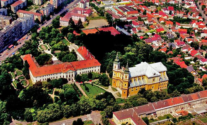 Palatul Baroc din orasul Oradea - flickr