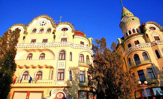 Palatul Vulturului Negru din orasul Oradea