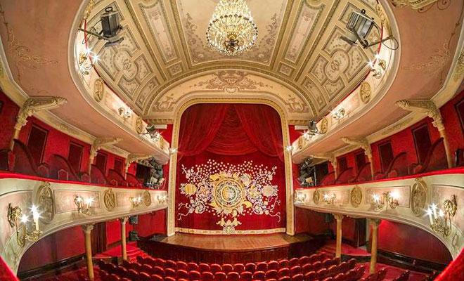 Teatrul Maria Filotti din orasul Braila - tmf