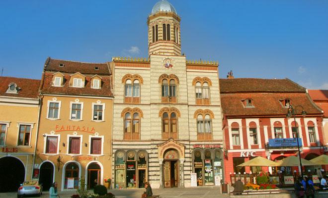 Catedrala Ortodoxa din orasul Brasov - flickr