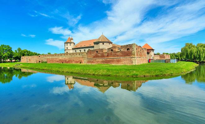 Cetatea Fagarasilor din orasul Fagaras