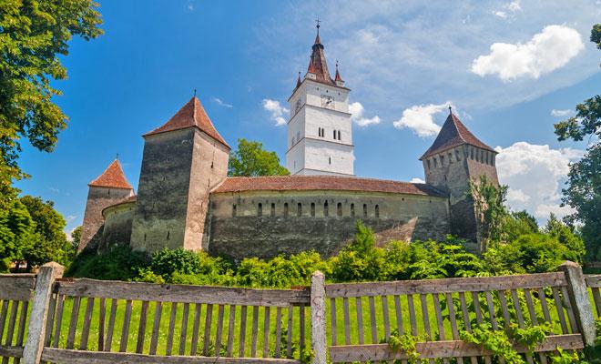 Cetatea Prejmer din comuna Prejmer