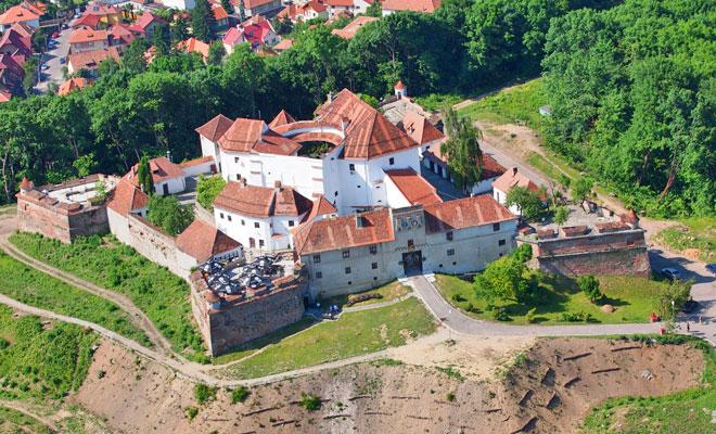Cetatuia de pe Straja din orasul Brasov