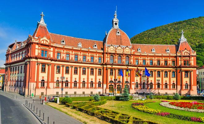 Palatul de Justitie din orasul Brasov