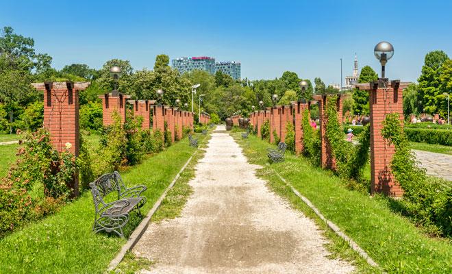 Parcul Herastrau din Bucuresti