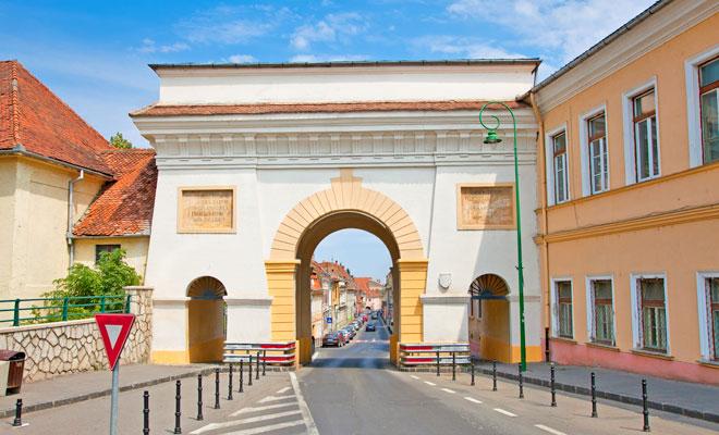 Poarta Schei din orasul Brasov