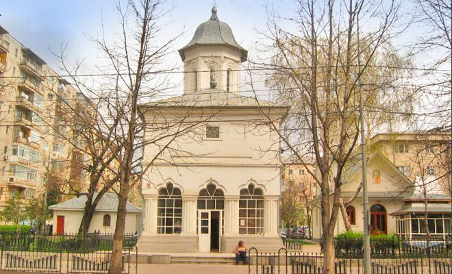 Biserica Adormirea Maicii Domnului Precista din orasul Focsani - vranceaatlastv