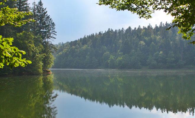 Lacul Buhui din orasul Anina - flickr