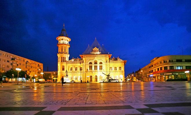 Palatul Comunal din orasul Buzau