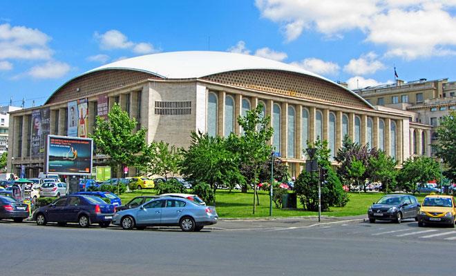 Sala Palatului din Bucuresti - flickr
