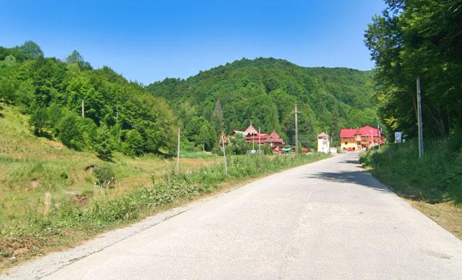 Statiunea Balvanyos din comuna Turia judetul Covasna