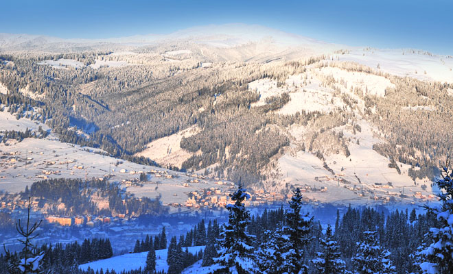 Statiunea Vatra Dornei din orasul Vatra Dornei judetul Suceava - flickr
