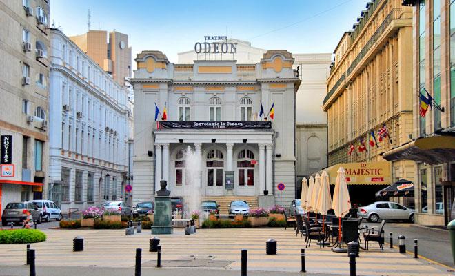 Teatrul Odeon din Bucuresti - flickr