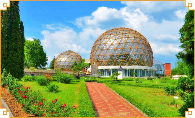 Obiective-turistice-din-judetul-Salaj---Gradina-botanica-Jibou