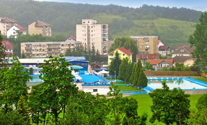 Statiunea Geoagiu-Bai din orasul Geoagiu judetul Hunedoara - flickr
